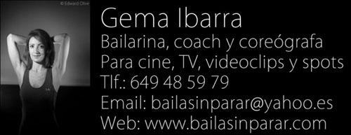 bailarinas coreografos madrid