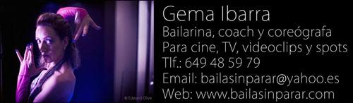bailarina coreografa madrid