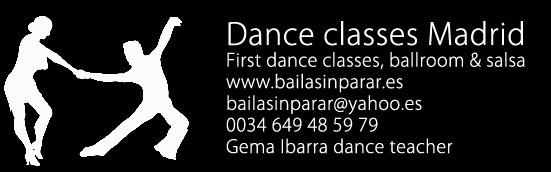 bailarines bailarinas madrid