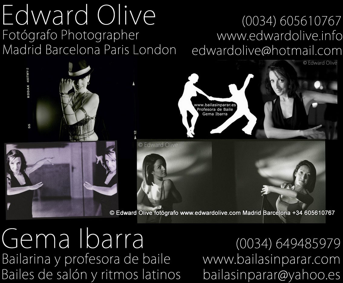 books bailarines castings