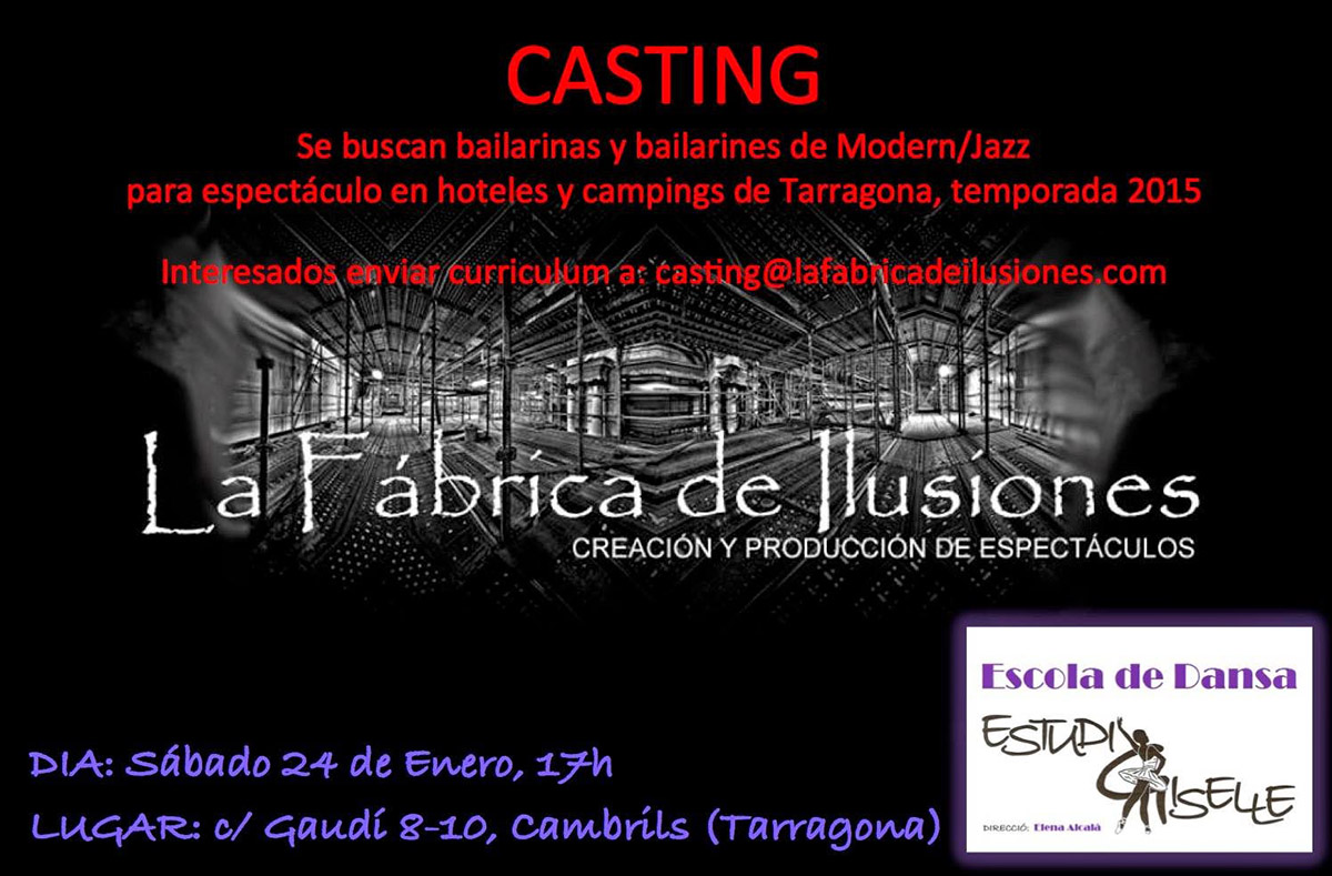casting baile